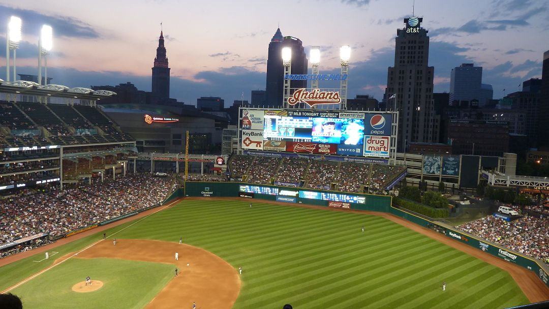 Cleveland Baseball Game der Indians