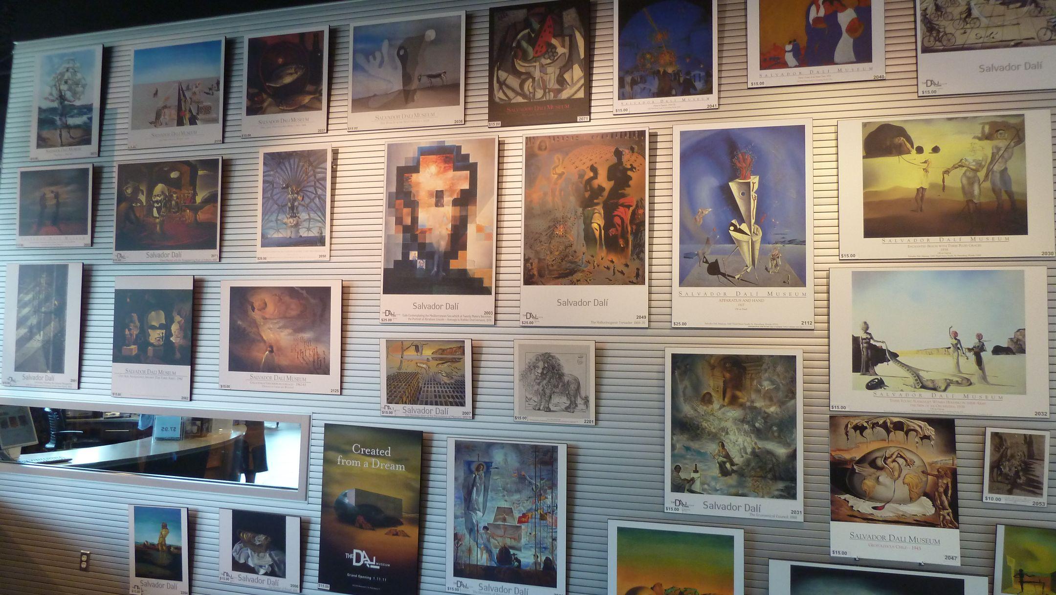Tampa Area – Dali Museum