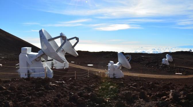 Mauna Kea und größte Sternwarte der Welt