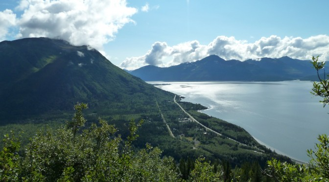 Alaska Bird Ridge Trail and Town of Whittier