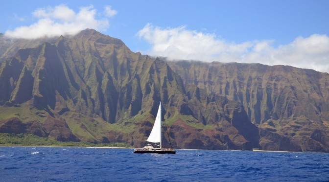 Kauai – Na Pali Coast Catamaran Tour
