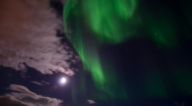 Northern Lights near Skibotn and Belvika