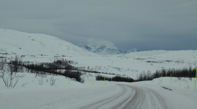 On the Way to Kiruna – Sweden