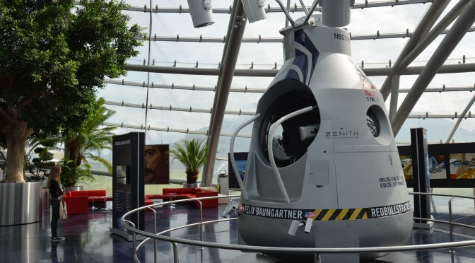 Red Bull Stratos – Hangar-7 – Felix Baumgartner