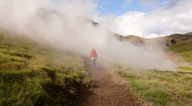 Hiking: Reykjadalur