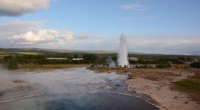 Geysir Hot Spring Area and Strokkur Geysir
