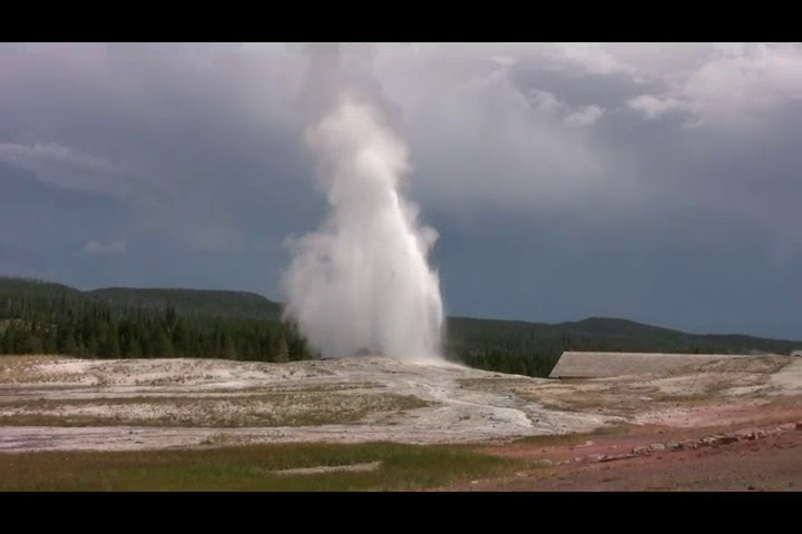 Yellowstone National Park and Old Faithful